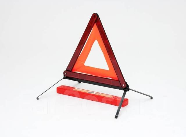 знак аварийной остановки с металлическим основанием AIRLINE AT03