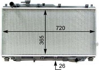 радиатор охлаждения SPECTRA Иж Мкпп PXNDB026/0K2A115200E
