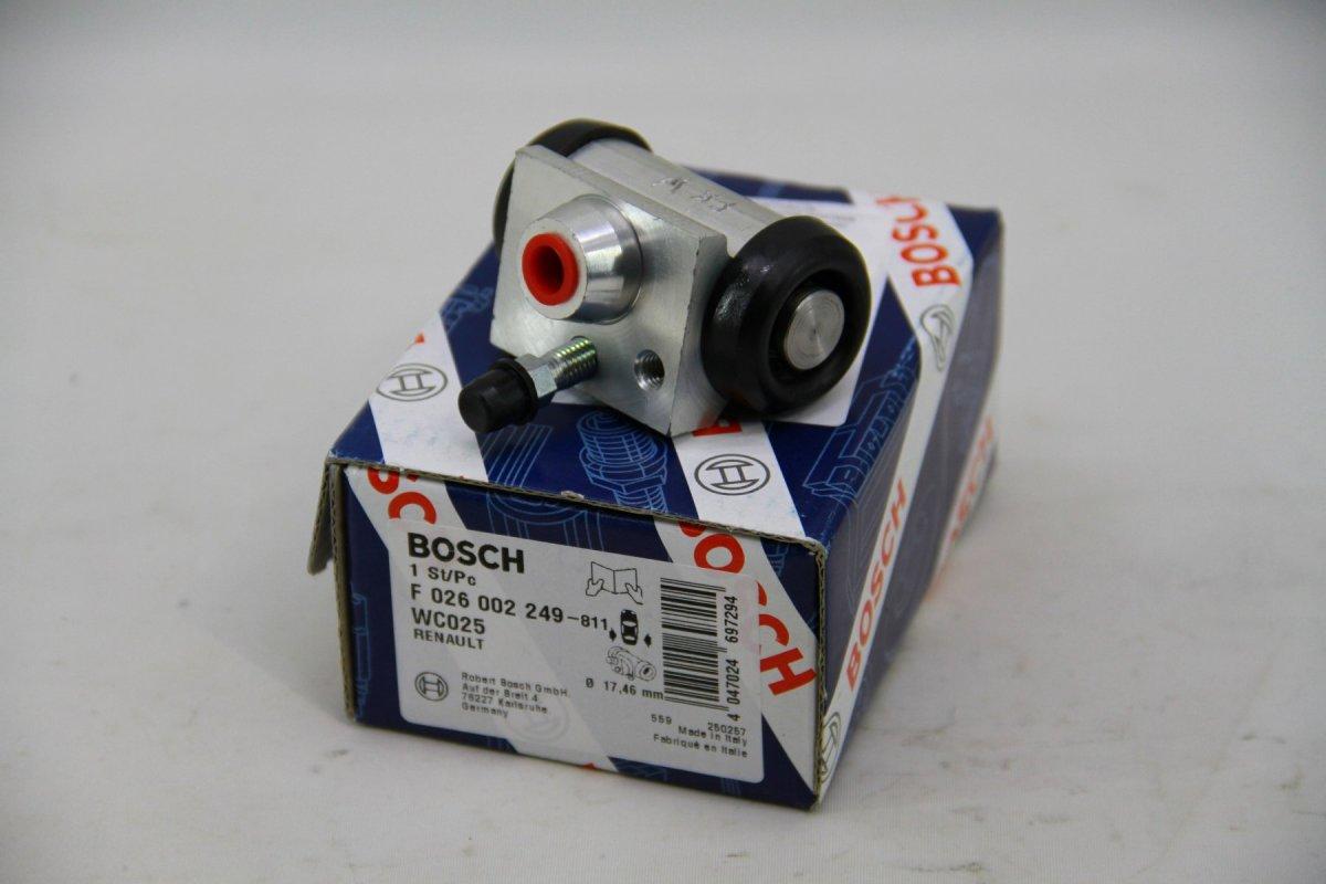 цилиндр тормоз. зад. (BOSCH 200 мм) LOGAN/SANDERO -14 F026002249/7701047838